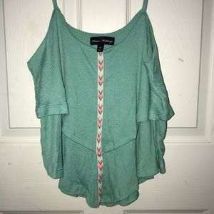 Beautiful teal tank top, perfect for summer!